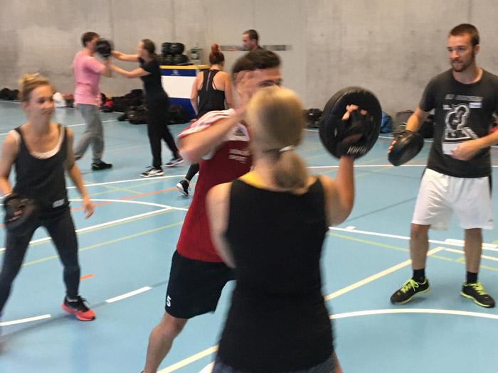 Teamevent Selbstverteidigung Kampfsport