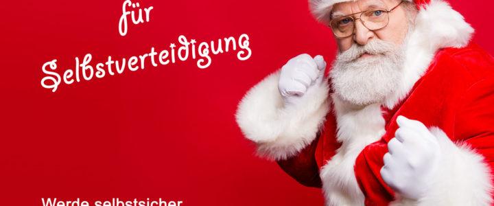 Selbstverteidigung – Geschenkgutschein.<br>Perfekt zu Weihnachten 2018!