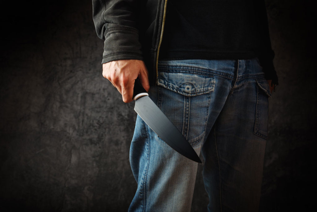 selbstverteidigung messer messerabwehr